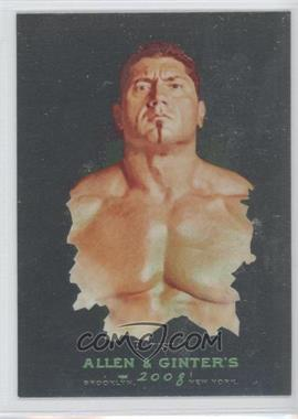 2008 Topps WWE Heritage Chrome Allen & Ginter #2 - Batista