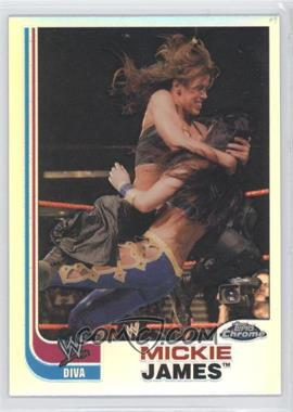 2008 Topps WWE Heritage Chrome Refractors #67 - Mickie James