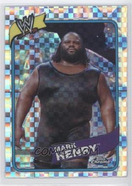 2008 Topps WWE Heritage Chrome X-Fractors #20 - Mark Henry