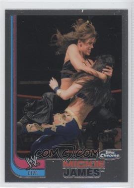 2008 Topps WWE Heritage Chrome #67 - Mickie James