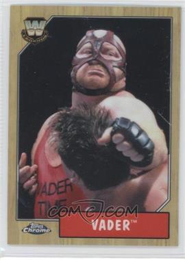 2008 Topps WWE Heritage Chrome #87 - Vader