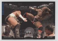 Elijah Burke vs. CM Punk