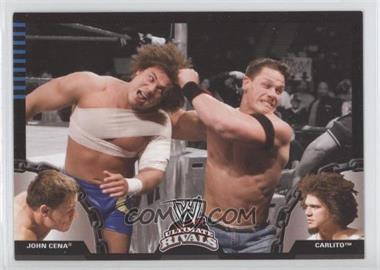 2008 Topps WWE Ultimate Rivals #20 - John Cena, Carlito
