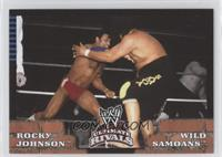 Rocky Johnson, AFA/Sika