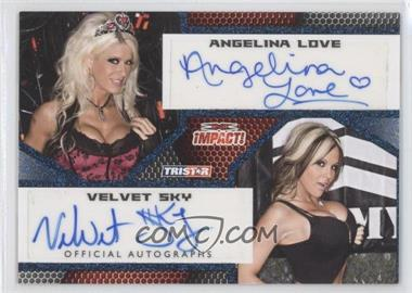 2009 TRISTAR TNA Impact! - Autographs - Blue #IA-62 - [Missing] /25