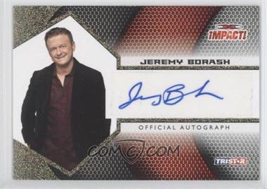 2009 TRISTAR TNA Impact! Autographs Gold #IA-32 - Jeremy Borash /60