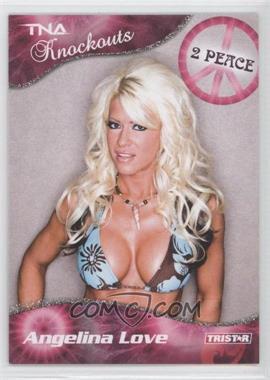 2009 TRISTAR TNA Wrestling Knockouts - [Base] - Silver #21 - Angelina Love /40