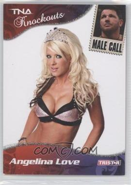 2009 TRISTAR TNA Wrestling Knockouts - [Base] - Silver #73 - Angelina Love /40