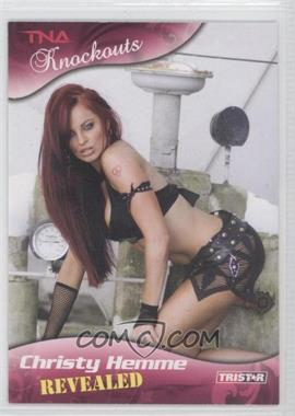 2009 TRISTAR TNA Wrestling Knockouts - [Base] #105 - Christy Hemme