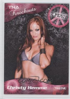 2009 TRISTAR TNA Wrestling Knockouts - [Base] #22 - Christy Hemme