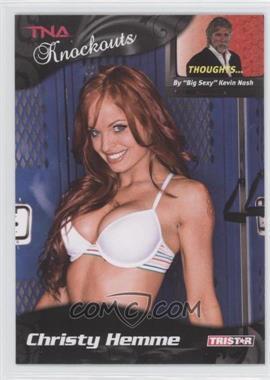 2009 TRISTAR TNA Wrestling Knockouts - [Base] #65 - Christy Hemme