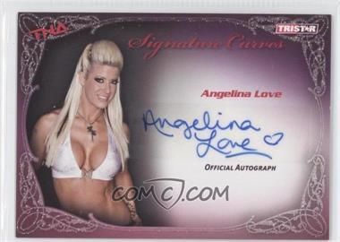 2009 TRISTAR TNA Wrestling Knockouts - Signature Curves #KA1 - Angelina Love