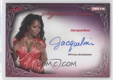 2009 TRISTAR TNA Wrestling Knockouts - Signature Curves #KA5 - Jacqueline