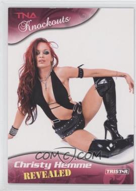 2009 TRISTAR TNA Wrestling Knockouts [???] #99 - Christy Hemme