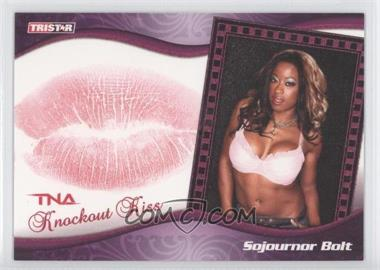2009 TRISTAR TNA Wrestling Knockouts Knockout Kiss Purple #K10 - Sojournor Bolt /1