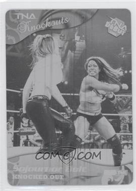 2009 TRISTAR TNA Wrestling Knockouts Printing Plate Black #15 - Sojournor Bolt /1
