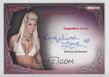 2009 TRISTAR TNA Wrestling Knockouts Signature Curves #KA1 - Angelina Love