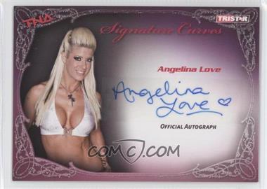 2009 TRISTAR TNA Wrestling Knockouts Signature Curves #KA1 - Angelina Love