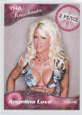 2009 TRISTAR TNA Wrestling Knockouts Silver #21 - Angelina Love /40