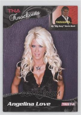 2009 TRISTAR TNA Wrestling Knockouts Silver #63 - Angelina Love /40