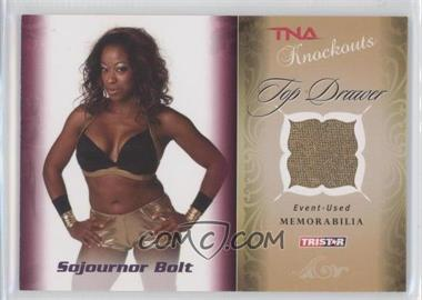 2009 TRISTAR TNA Wrestling Knockouts Top Drawer Memorabilia #TD-8 - Sojournor Bolt /175
