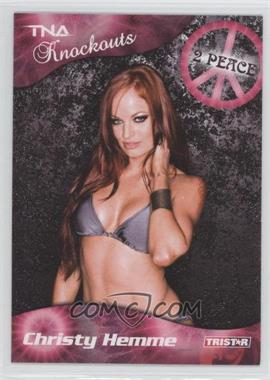 2009 TRISTAR TNA Wrestling Knockouts #22 - Christy Hemme
