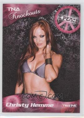 2009 TRISTAR TNA Wrestling Knockouts #22 - Christy Hemme
