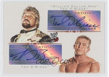 2009 Topps WWE Legacy Autographs #TDTD - Ted DiBiase, Ted Dibiase, Jr.