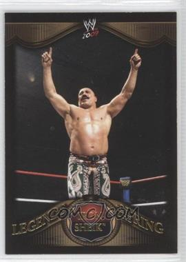 2009 Topps WWE Legends of the Ring Gold #7 - Iron Sheik /2250