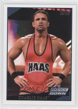 2009 Topps WWE #13 - Charlie Haas