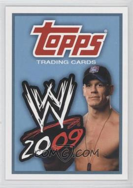 2009 Topps WWE #90 - John Cena