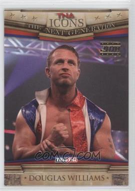 2010 TRISTAR TNA Icons - [Base] - Gold #57 - Douglas Williams /25