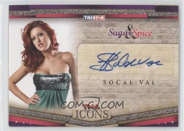 2010 TRISTAR TNA Icons [???] #SS9 - SoCal Val /50