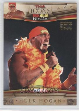 2010 TRISTAR TNA Icons Gold #40 - Hulk Hogan /25