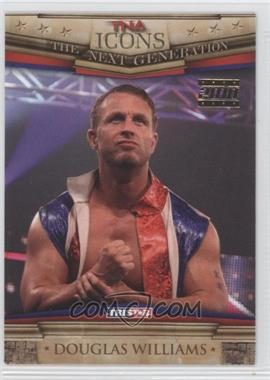 2010 TRISTAR TNA Icons Gold #57 - Douglas Williams /25