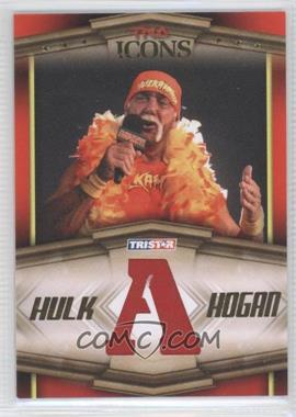 2010 TRISTAR TNA Icons Hulk Hogan Bandana Letters Gold #HH4 - Hulk Hogan /50