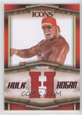 2010 TRISTAR TNA Icons Hulk Hogan Bandana Letters Red #HH1 - Hulk Hogan /25
