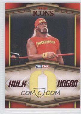 2010 TRISTAR TNA Icons Hulk Hogan Bandana Letters Red #HH2 - Hulk Hogan /25