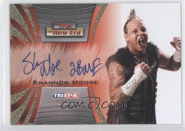 2010 TRISTAR TNA The New Era Autographs Gold #A52 - Shannon Moore /50