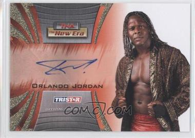 2010 TRISTAR TNA The New Era Autographs Gold #A7 - Orlando Jordan /50