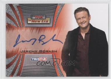 2010 TRISTAR TNA The New Era Autographs Silver #A20 - Jeremy Borash