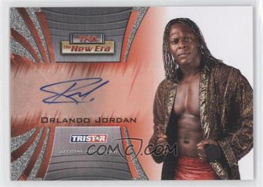2010 TRISTAR TNA The New Era Autographs Silver #A7 - Orlando Jordan