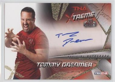 2010 TRISTAR TNA Xtreme - Autographs - Gold #X4 - Tommy Dreamer /99