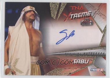 2010 TRISTAR TNA Xtreme Autographs #X5 - Sabu