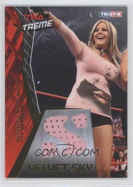 2010 TRISTAR TNA Xtreme Velvet Sky Memorabilia Gold #VS1 - Velvet Sky /50
