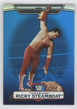 """2010 Topps Platinum WWE - [Base] - Blue #17 - Ricky """"The Dragon"""" Steamboat /199"""