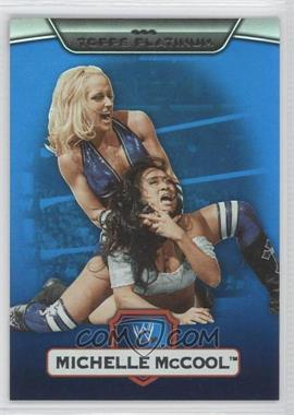 2010 Topps Platinum WWE - [Base] - Blue #56 - Michelle McCool /199