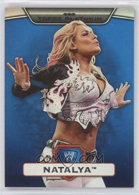 2010 Topps Platinum WWE - [Base] - Blue #68 - Natalya /199