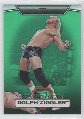 2010 Topps Platinum WWE - [Base] - Green #115 - Dolph Ziggler /499