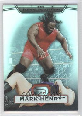 2010 Topps Platinum WWE - [Base] - Rainbow #29 - Mark Henry